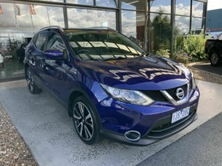 2017 Nissan Qashqai J11 TI Blue 6 Speed Manual Wagon.