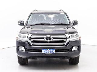 2019 Toyota Landcruiser VDJ200R LC200 VX (4x4) Black 6 Speed Automatic Wagon.