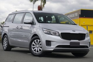 2018 Kia Carnival YP MY18 S Silky Silver 6 Speed Sports Automatic Wagon.