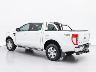 2012 Ford Ranger PX XLT 3.2 (4x4) White 6 Speed Automatic Double Cab Pick Up