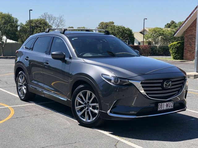 Used Mazda CX-9 TC Azami SKYACTIV-Drive Chermside, 2016 Mazda CX-9 TC Azami SKYACTIV-Drive Grey 6 Speed Sports Automatic Wagon