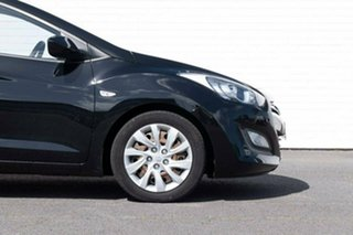 2013 Hyundai i30 GD2 Active Black 6 Speed Manual Hatchback