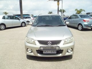2002 Mazda 323 BJ II SP20 Gold 5 Speed Manual Hatchback.