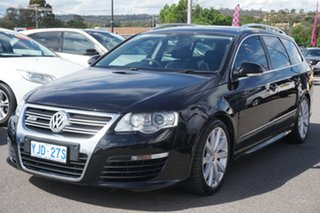 2009 Volkswagen Passat Type 3C MY09 R36 DSG 4MOTION 6 Speed Sports Automatic Dual Clutch Wagon