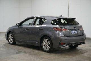 2015 Lexus CT ZWA10R MY16 CT200h Luxury Grey 1 Speed Constant Variable Hatchback Hybrid.