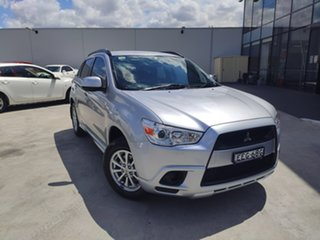 2010 Mitsubishi ASX XA MY11 2WD Silver 6 Speed Constant Variable Wagon.