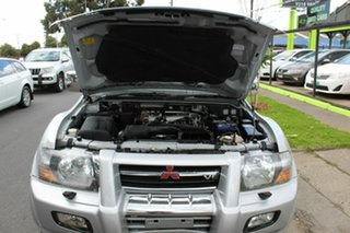 2000 Mitsubishi Pajero NM Exceed Silver 5 Speed Sports Automatic Wagon