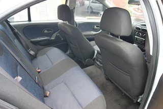 2002 Ford Falcon AUIII SR White 4 Speed Automatic Sedan