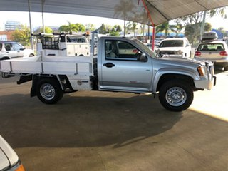 2010 Holden Colorado RC MY10 LX (4x4) Silver 5 Speed Manual Cab Chassis.