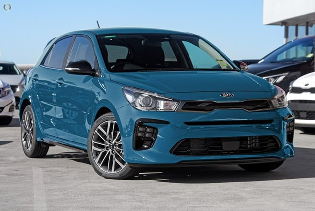 New Kia Rio YB MY21 GT-Line DCT, 2020 Kia Rio YB MY21 GT-Line DCT Blue 7 Speed Sports Automatic Dual Clutch Hatchback