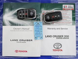 2019 Toyota Landcruiser VDJ200R LC200 VX (4x4) Black 6 Speed Automatic Wagon