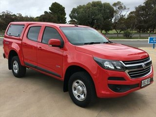 2017 Holden Colorado RG MY17 LS Pickup Crew Cab Absolute Red 6 Speed Sports Automatic Utility.