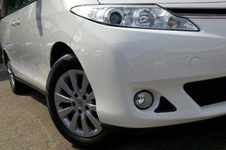 2018 Toyota Tarago ACR50R GLX White 7 Speed Constant Variable Wagon.