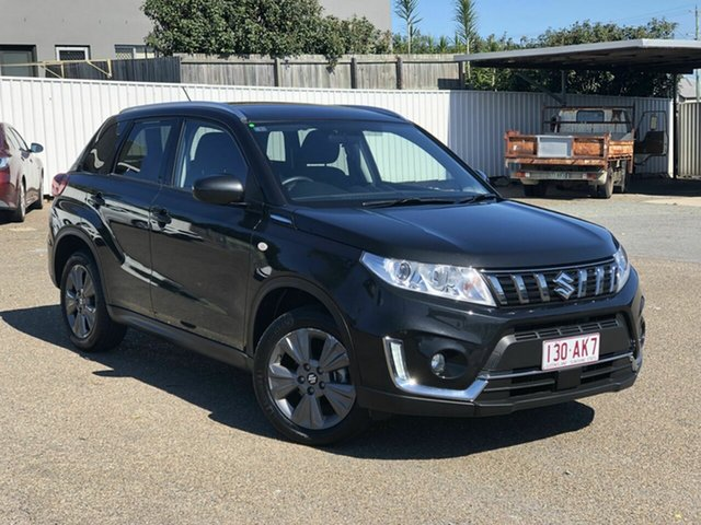 Used Suzuki Vitara LY Series II 2WD Chermside, 2019 Suzuki Vitara LY Series II 2WD Black 6 Speed Sports Automatic Wagon