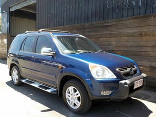2002 Honda CR-V RD MY2002 Sport 4WD Blue 4 Speed Automatic Wagon.