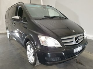 2011 Mercedes-Benz Viano 639 MY11 BlueEFFICIENCY Black 5 Speed Automatic Wagon.