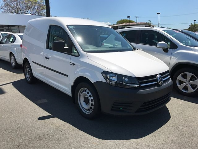 Used Volkswagen Caddy 2KN MY16 TSI220 SWB DSG, 2016 Volkswagen Caddy 2KN MY16 TSI220 SWB DSG White 7 Speed Sports Automatic Dual Clutch Van