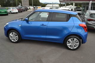 2017 Suzuki Swift AZ GL Navigator Speedy Blue 1 Speed Constant Variable Hatchback