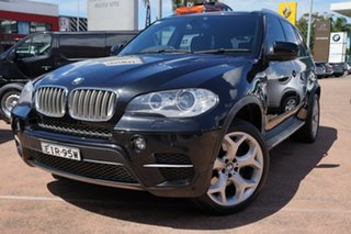 2010 BMW X5 E70 MY10 xDrive 40d Sport Black 8 Speed Automatic Sequential Wagon.