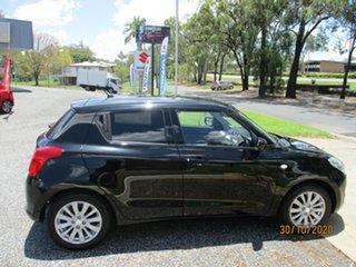 2018 Suzuki Swift AZ GL Navigator Super Black 1 Speed Constant Variable Hatchback.