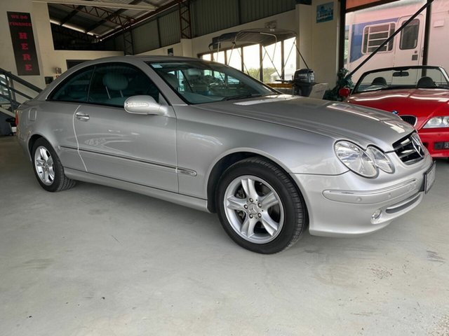 Used Mercedes-Benz CLK320 C209 Avantgarde Arundel, 2003 Mercedes-Benz CLK320 C209 Avantgarde Silver 5 Speed Auto Touchshift Coupe