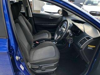 2014 Hyundai i20 PB MY15 Elite Blue 4 Speed Automatic Hatchback