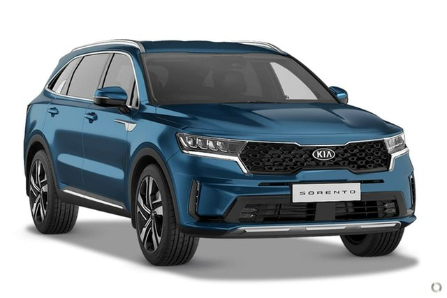 Demo Kia Sorento MQ4 MY21 Sport+ AWD Reynella, 2020 Kia Sorento MQ4 MY21 Sport+ AWD Blue 8 Speed Sports Automatic Dual Clutch Wagon