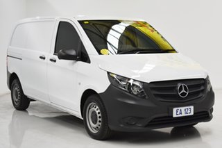 2016 Mercedes-Benz Vito 447 114BlueTEC SWB 7G-Tronic + White 7 Speed Sports Automatic Van