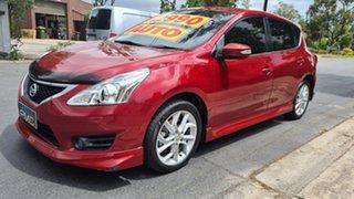 2013 Nissan Pulsar C12 SSS Shiraz 1 Speed Constant Variable Hatchback.