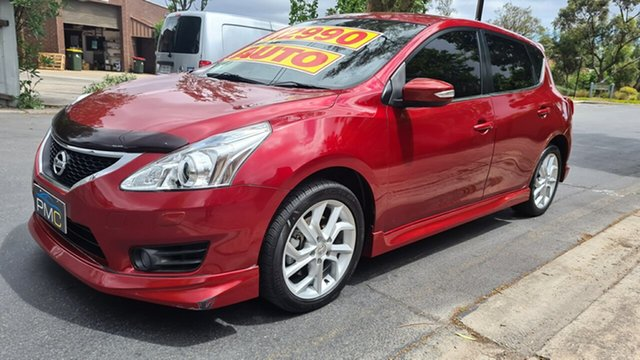 Used Nissan Pulsar C12 SSS Prospect, 2013 Nissan Pulsar C12 SSS Shiraz 1 Speed Constant Variable Hatchback