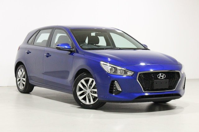 Used Hyundai i30 PD2 MY19 Active Bentley, 2019 Hyundai i30 PD2 MY19 Active Blue 6 Speed Automatic Hatchback