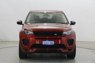 2017 Land Rover Discovery Sport L550 18MY Si4 213kW SE Dark Red 9 Speed Sports Automatic Wagon.