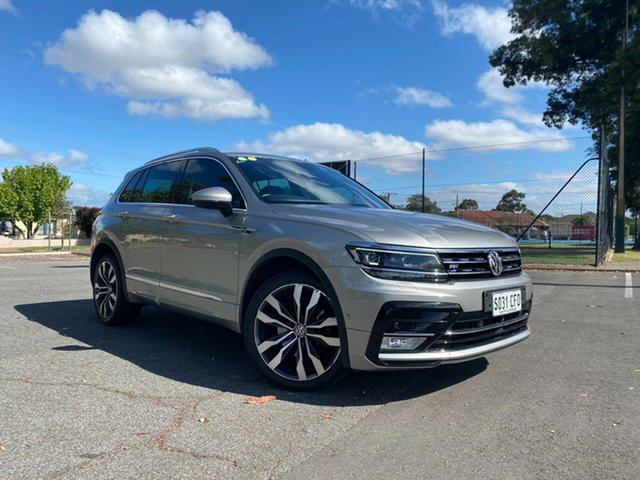 Used Volkswagen Tiguan 5N MY16 155TSI DSG 4MOTION R-Line Nailsworth, 2016 Volkswagen Tiguan 5N MY16 155TSI DSG 4MOTION R-Line Grey 7 Speed Sports Automatic Dual Clutch