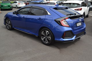 2017 Honda Civic 10th Gen MY17 VTi-LX Brilliant Blue 1 Speed Constant Variable Hatchback