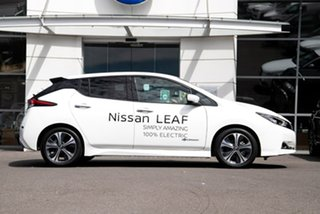 2020 Nissan Leaf ZE1 Arctic White 1 Speed Reduction Gear Hatchback