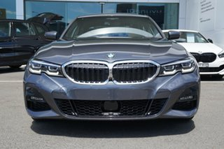 2019 BMW 330i F30 LCI M Sport Mineral Grey 8 Speed Auto Steptronic Sport Sedan