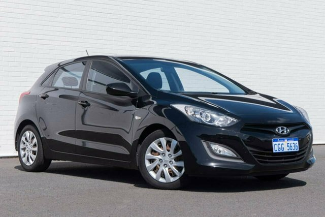 Used Hyundai i30 GD2 Active Bunbury, 2013 Hyundai i30 GD2 Active Black 6 Speed Manual Hatchback