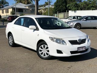 2008 Toyota Corolla ZRE152R Ascent White 4 Speed Automatic Sedan.