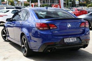 2016 Holden Commodore VF II SV6 Blue 6 Speed Automatic Sedan.