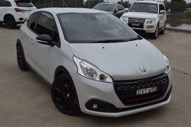 Used Peugeot 208 A9 MY18 GTi Edition Definitive, 2018 Peugeot 208 A9 MY18 GTi Edition Definitive White 6 Speed Manual Hatchback