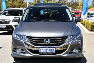 2011 Honda Odyssey 4th Gen MY10 Luxury Grey 5 Speed Sports Automatic Wagon