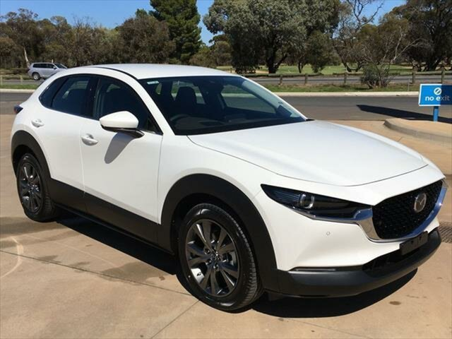 Demo Mazda CX-30 DM2W7A G20 SKYACTIV-Drive Astina Berri, 2020 Mazda CX-30 DM2W7A G20 SKYACTIV-Drive Astina Snowflake White Pearl 6 Speed Sports Automatic