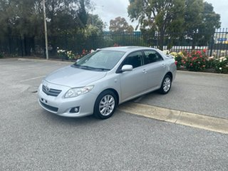 2007 Toyota Corolla ZRE152R Conquest Silver 4 Speed Automatic Sedan.