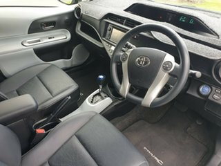2013 Toyota Prius c NHP10R i-Tech E-CVT Silver 1 Speed Constant Variable Hatchback Hybrid