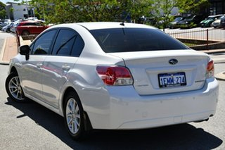 2014 Subaru Impreza G4 MY14 2.0i Lineartronic AWD Satin White Pearl 6 Speed Constant Variable Sedan.