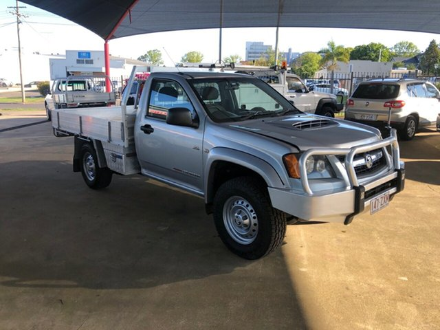 Used Holden Colorado RC MY10 LX (4x4), 2010 Holden Colorado RC MY10 LX (4x4) Silver 5 Speed Manual Cab Chassis