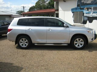 2007 Toyota Kluger Silver Wagon.