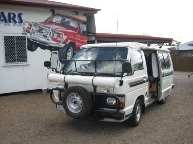 Used Toyota HiAce North Ipswich, 1985 Toyota HiAce White 5 Speed Manual