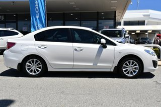 2014 Subaru Impreza G4 MY14 2.0i Lineartronic AWD Satin White Pearl 6 Speed Constant Variable Sedan