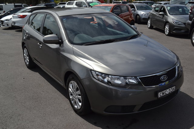 Used Kia Cerato TD MY11 SI Maitland, 2011 Kia Cerato TD MY11 SI Grey 6 Speed Sports Automatic Hatchback